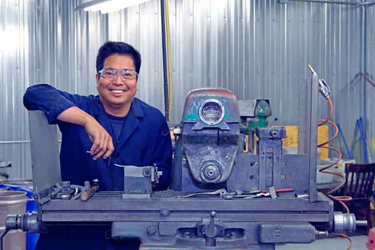 Taiwanese metaalbewerker